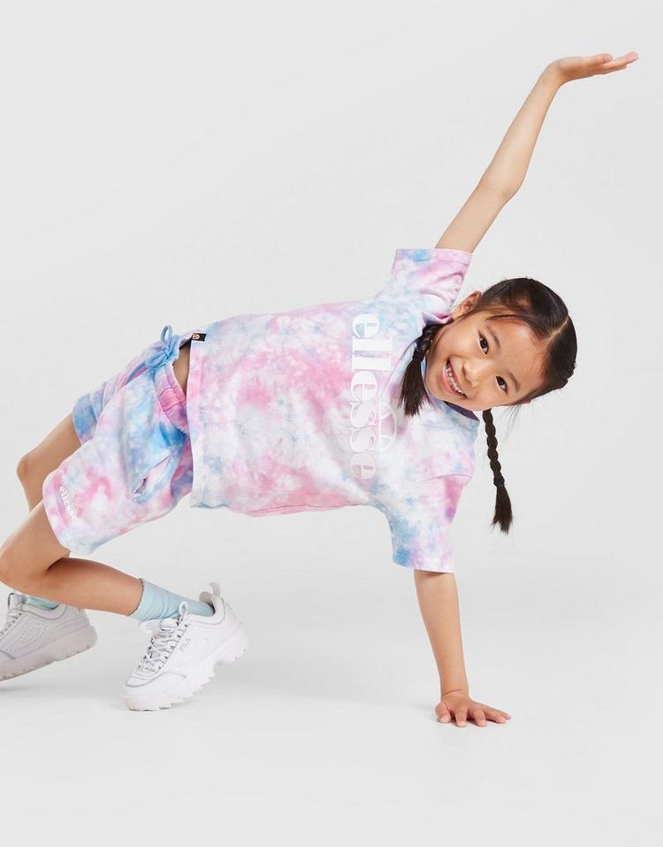 Ellesse Ensemble Azela Tie Dye T-Shirt/Short Filles Enfants