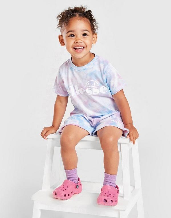 Ellesse Azela Tie Dye T-Shirt/Shorts Set Infant