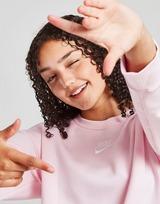 Nike Girls' Club Boyfriend Crew Sweatshirt Junior