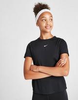 Nike Girls' Fitness One T-Shirt Junior