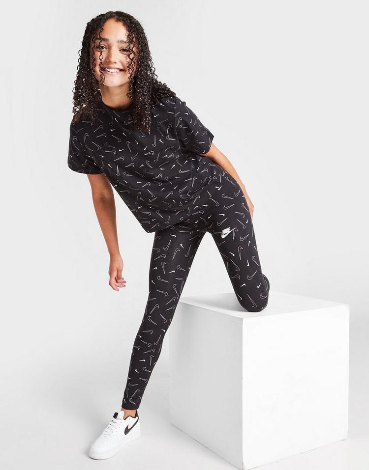 Nike Girls' Favourites All Over Print Leggings Junior