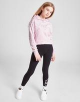 Nike Girls' All Over Swoosh Print Hoodie Junior