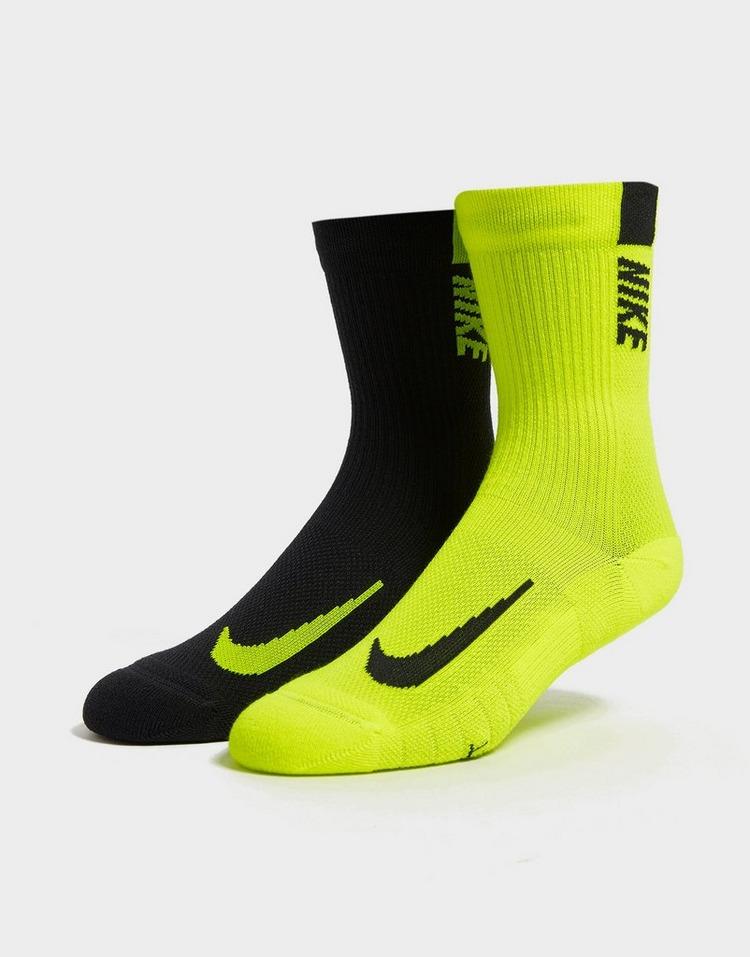 Nike 2-Pack Multiplier Crew Training Socks