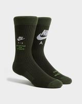 Nike 2-Pack SNKR Sox Crew Socks