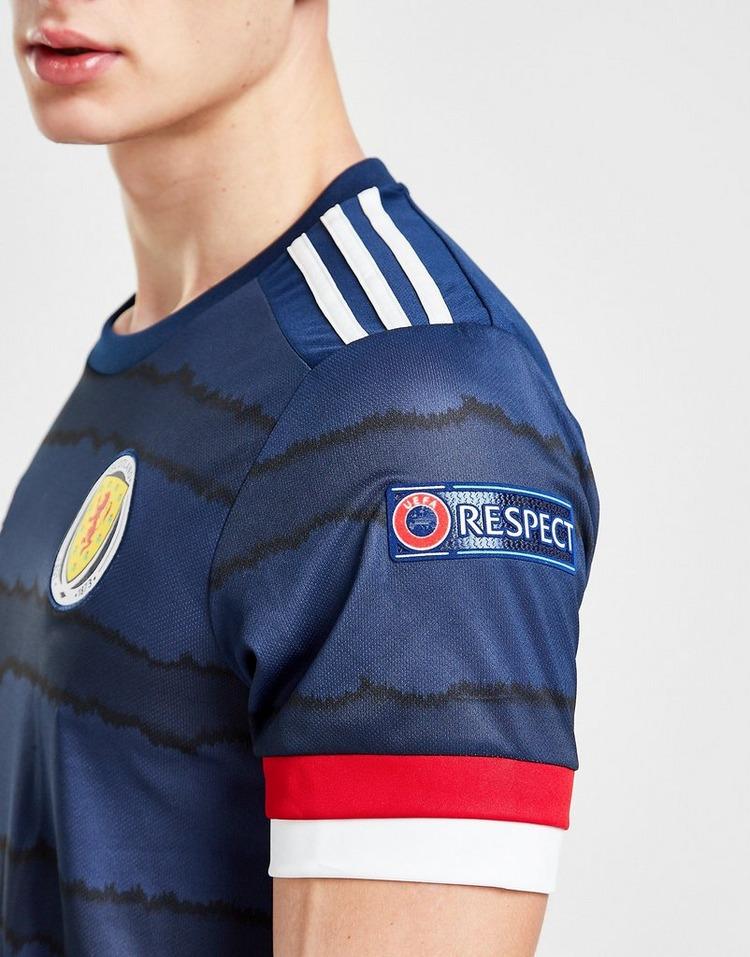 adidas Scotland Euro 2020 Badged Home Shirt