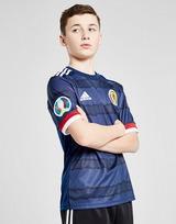 adidas Scotland Euro 2020 Badged Home Shirt Junior