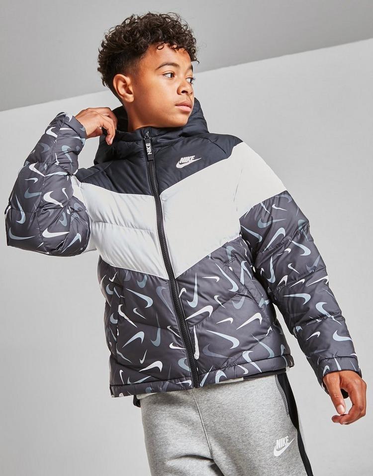 Nike All Over Print Padded Jacket Junior