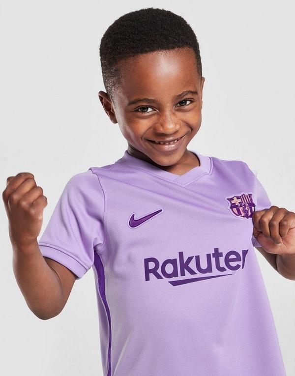 Nike FC Barcelona 2021/22 Away Kit Children
