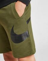 Nike Swoosh Fleece Shorts Junior