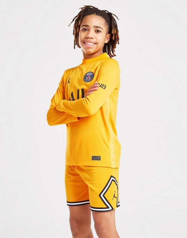 Jordan Paris Saint Germain 2021/22 Away GK Shorts Junior