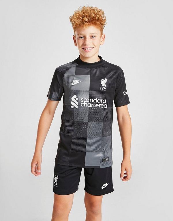 Nike Liverpool 2021/22 Third Goalkeeper Shorts Junior