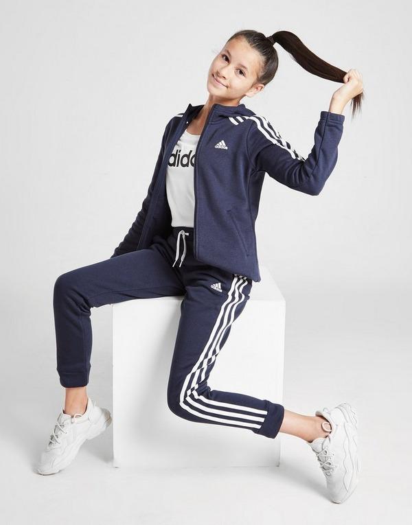 adidas Girls' 3-Stripes Badge Of Sport Joggers Junior