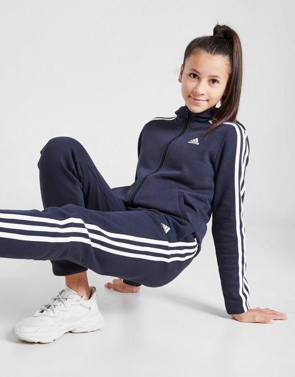 adidas Girls' Badge of Sport Full Zip Hoodie Kinder