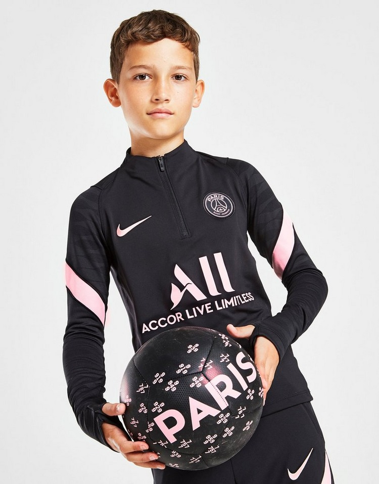 Nike camiseta x Paris Saint Germain Strike Drill júnior