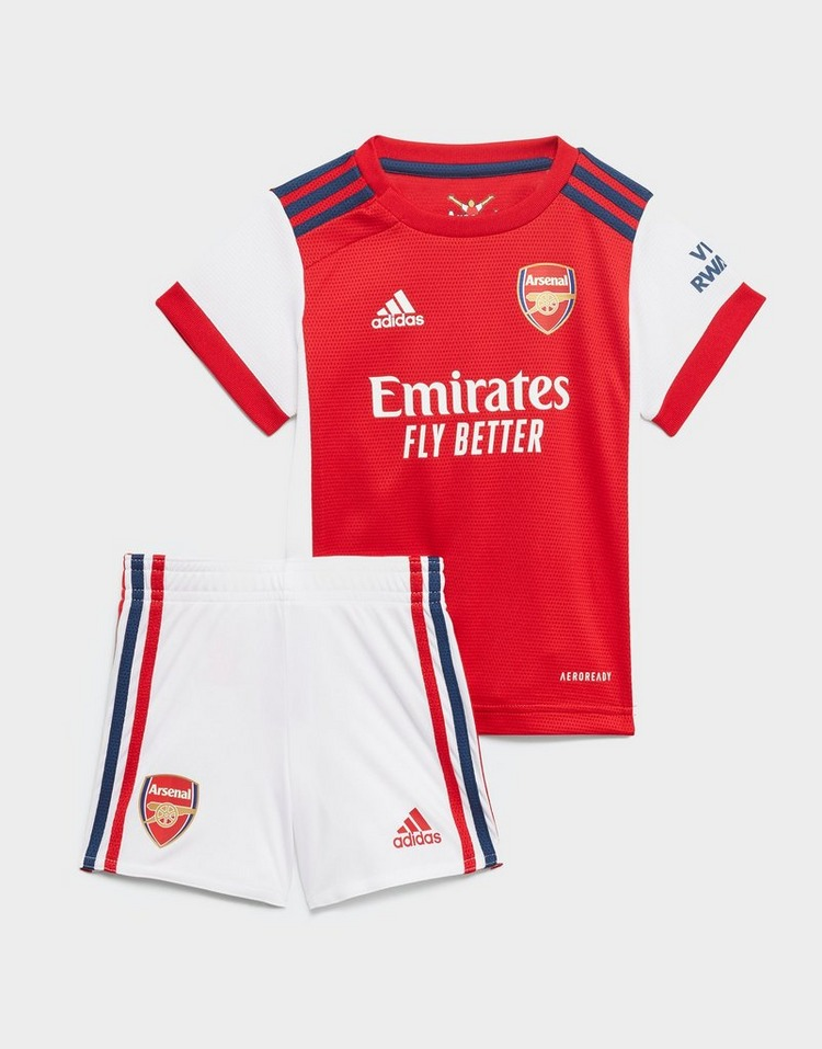 adidas conjunto Arsenal 21/22 1. ª equipación para bebé
