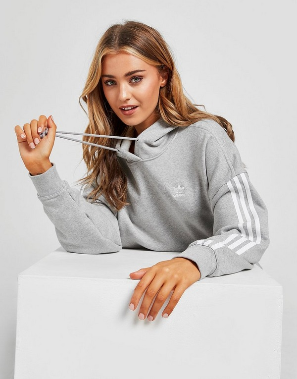 adidas Originals 3-Stripes Oversized Hoodie