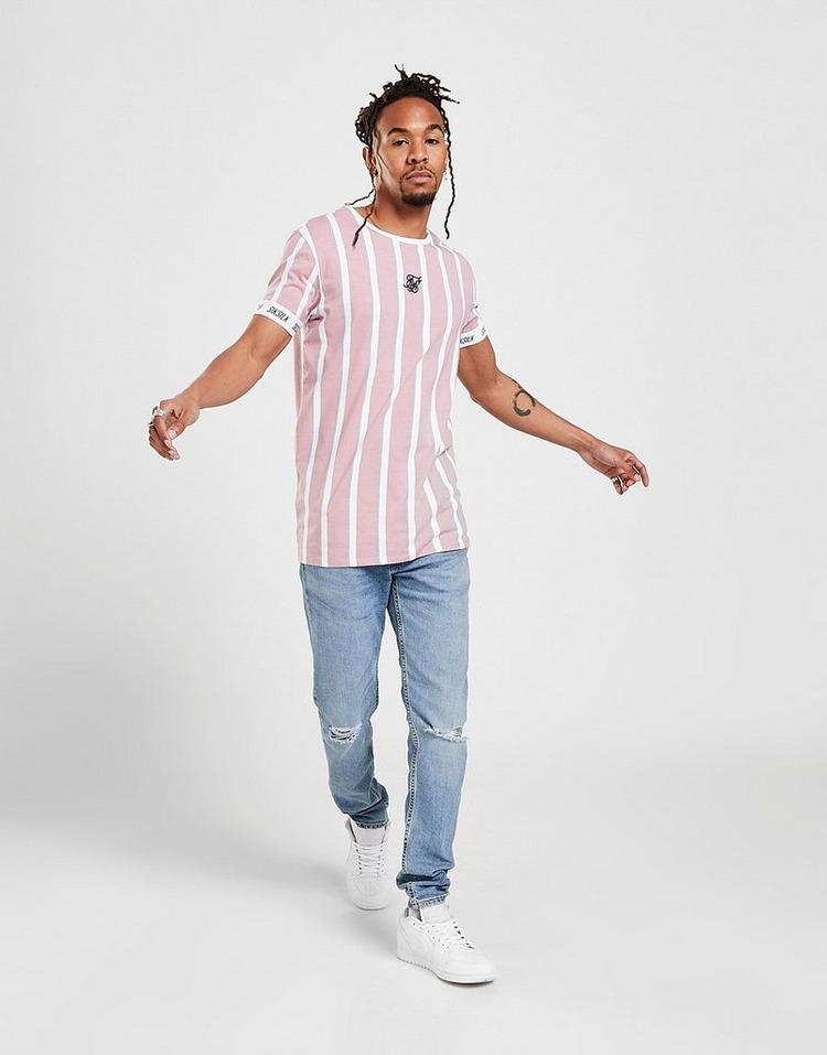 SikSilk Stripe T-Shirt
