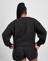 Pink Soda Sport Essentials Plus Size Cropped Crew Neck Sweatshirt