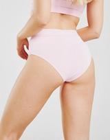 Ellesse Tape High Waisted Bikini Bottoms