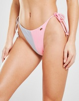Ellesse Colour Block Tie Bikini Bottoms
