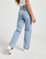 Levis High Waist Straight Jeans