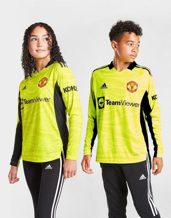 adidas Manchester United 2021/22 Home GK Shirt Junior