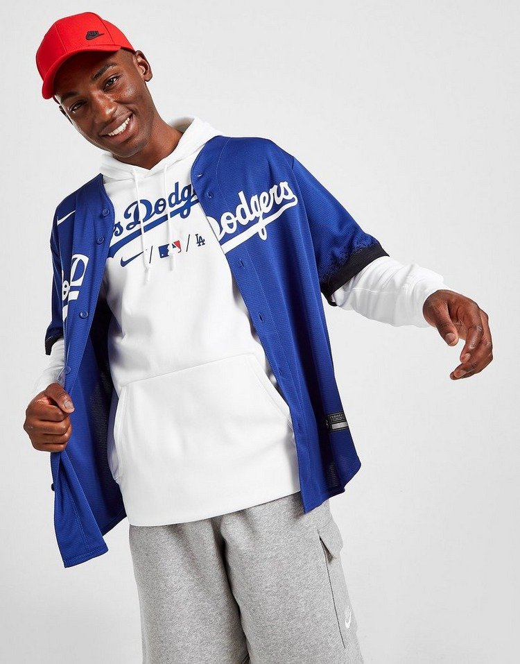 Nike MLB Los Angeles Dodgers Therma City Connect Hoodie