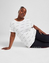 Tommy Hilfiger Plus Size All Over Print T-Shirt