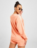 adidas Originals Crew Bf Flt Stitch Ambnt Blush $