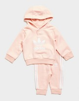 adidas Girls' Overhead Trefoil Tracksuit Infant