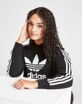 adidas Originals Girls' Trefoil Overhead Hoodie Junior