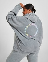 Supply & Demand Ombre Graphic Plus Size Hoodie