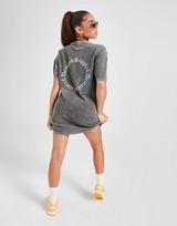 Supply & Demand Ombre Graphic T-shirt Jurk Dames