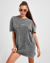 Supply & Demand Ombre Graphic T-Shirt Dress