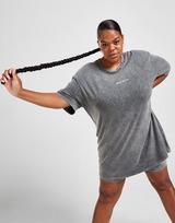 Supply & Demand Ombre Graphic Plus Size T-Shirt Dress