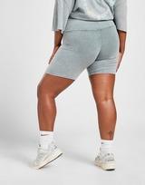 Supply & Demand Gothic Washed Plus Size Cycle Shorts