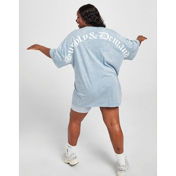 Supply & Demand Gothic Plus Size Washed T-Shirt