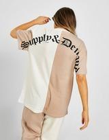 Supply & Demand เสื้อยืดผู้หญิง SPLICE BF