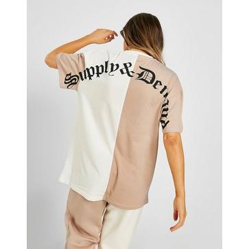 Supply & Demand Splice Boyfriend T-Shirt
