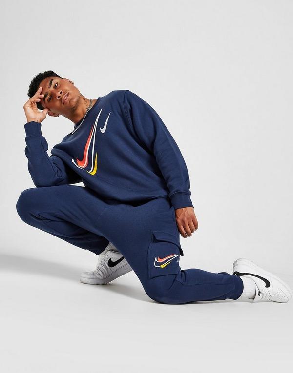 Nike Pantalon cargo en tissu Fleece Nike Sportswear pour Homme