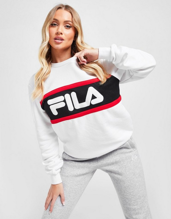 Fila Colour Block Crew Sweatshirt