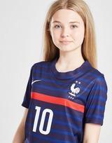 Nike France 2020/21 Mbappe #10 Home Shirt Junior