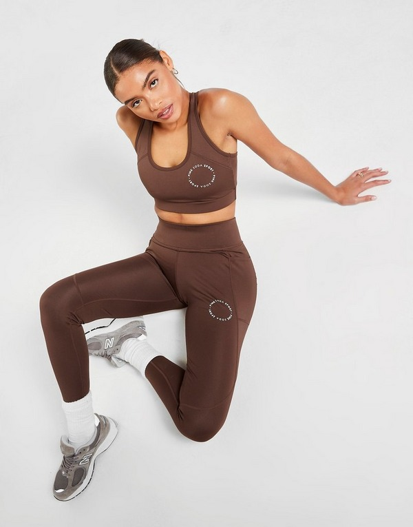 Pink Soda Sport Olympic Hourglass Tights