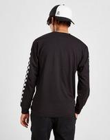 Vans Tri Line Check Long Sleeve T-Shirt