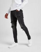 Supply & Demand Shiny Black Wash Jeans