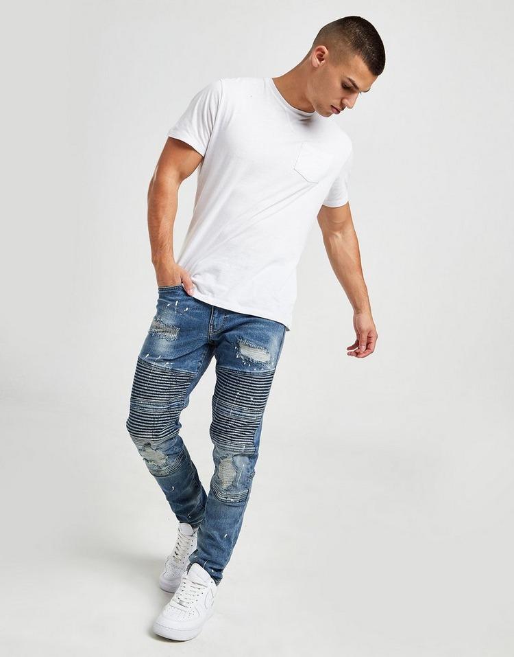 Supply & Demand Biker Bleach Jeans