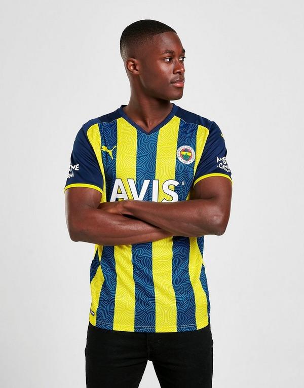 Puma Fenerbahce FC 2021/22 Home Short Sleeve Jersey