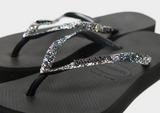 Havaianas Slim Platform Shine Flip Flops Women's