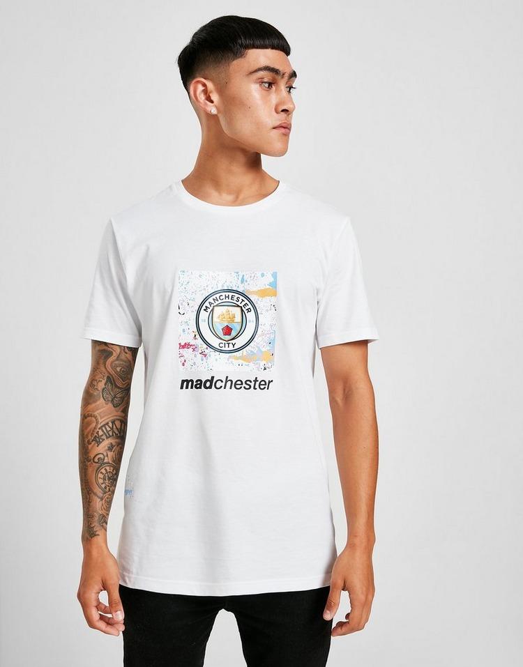 Puma Manchester City Madechester Graphic Logo T-Shirt