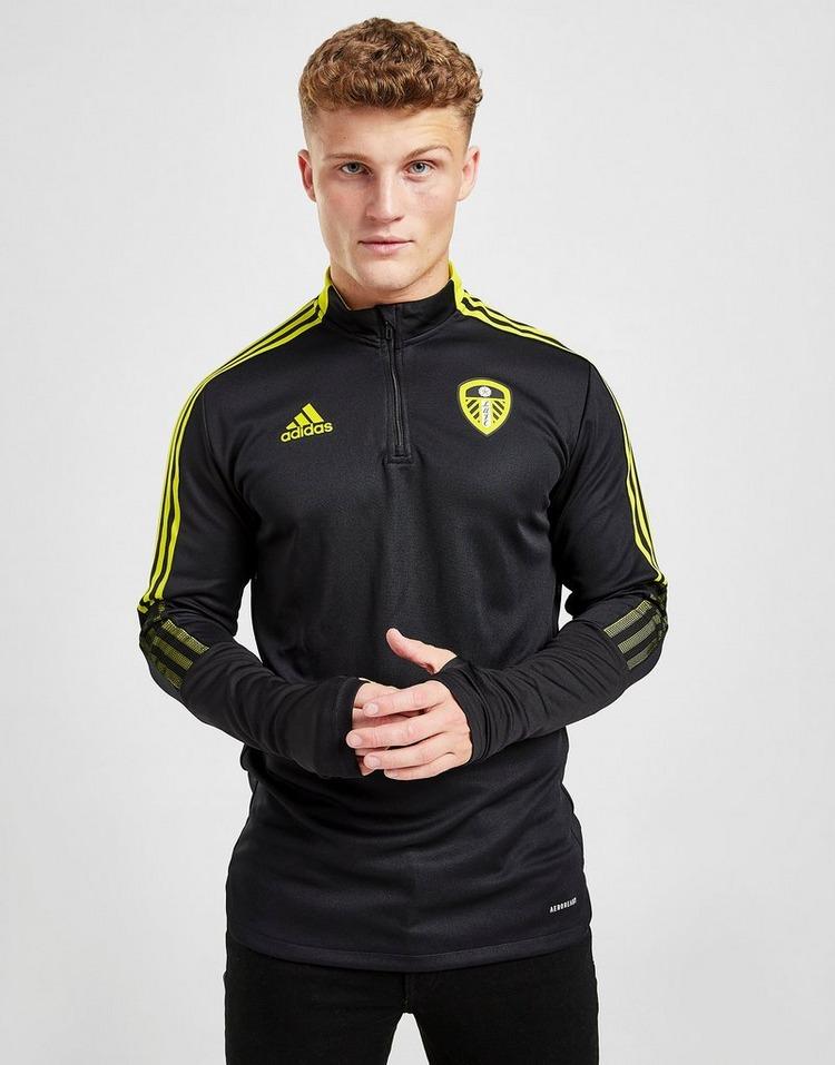 adidas Leeds United FC 1/4 Zip Top